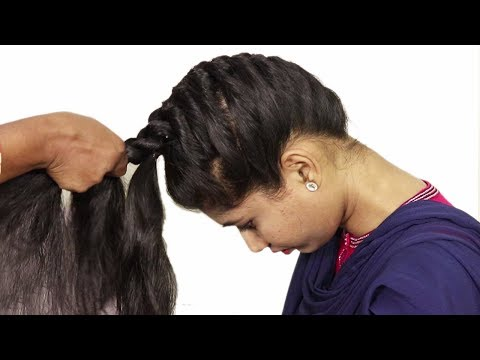 5Different Hairstyles for long hair | easy Braided hair styles | Hairstyle tutorial 2018