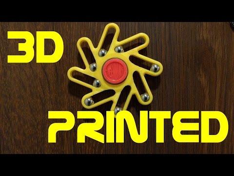 Fidget Spinner Perpetuum - 3D printed
