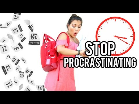 11 HACKS to Stop Procrastinating & Be More Productive!