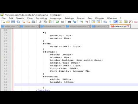 Passing data to Database using PHP, styling form - Web Development