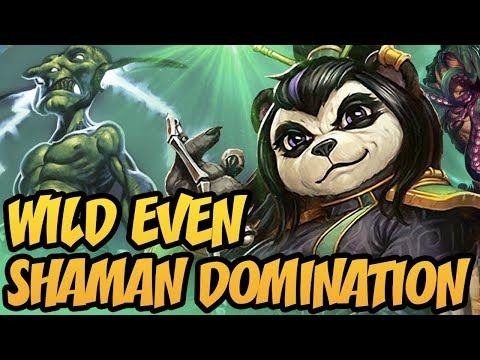 Hearthstone: Wild Even Shaman Domination