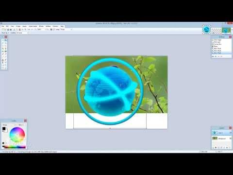 How to make free transparent pictures for videos with Paint Net