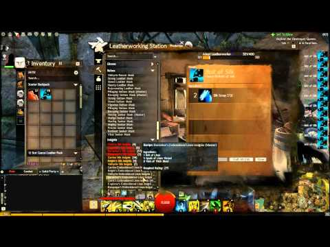 Guild Wars 2 - Leatherworking Crafting Guide