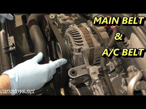 Subaru Drive Belt Replacement 2.5 Impreza / Forester / Outback / Legacy