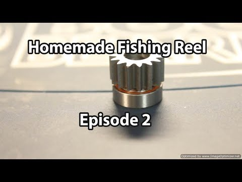 Homemade Fishing Reel Episode 2: Pinion Assembly