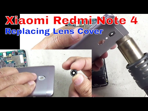Xiaomi Redmi Note 4 Changing Lens Cover