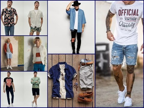 Latest Men's Fashion Lookbook Ideas For Summer 2018