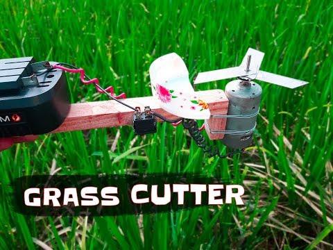How to Make Powerful Grass Cutter Machine