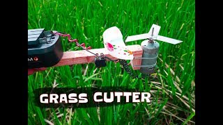 How to Make Powerful Grass Cutter Machine