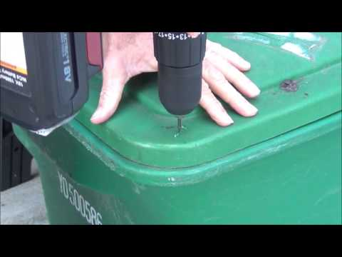 How To Make Toter Trash Can Bear Resistant