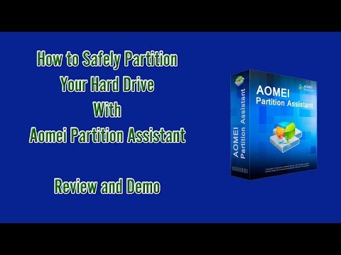 Aomei Partition Assistant Review & Demo - DOWNLOAD Here!