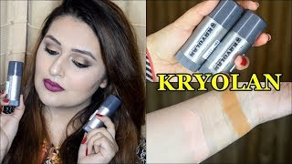 Kryolan TV Paint Stick Review | How To Apply Bridal Base | For Pakistani/Indian Skin