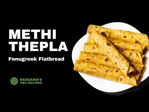 methi thepla recipe, how to make gujarati methi thepla recipe | methi ka thepla