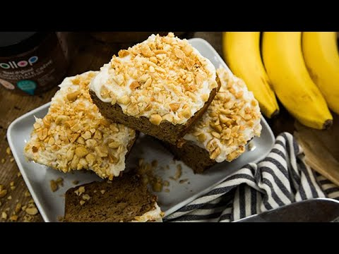 Heather Saffer's Salted Caramel Peanut Butter Banana Bread - Hallmark Channel