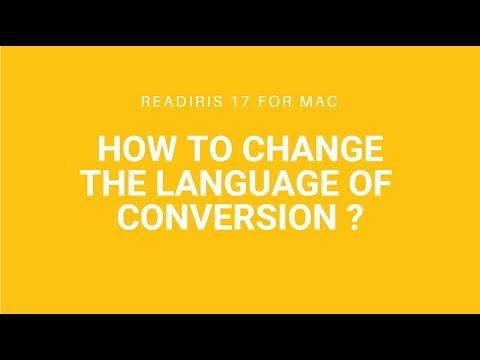 Readiris 17 Mac: More than 130 languages