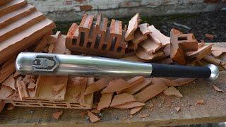 Casting a one hand aluminum bat