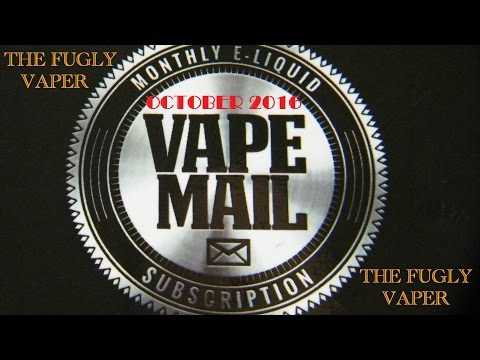 Vape-Mail UK Subscription Box Review for October 2016