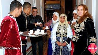 لالة حادة معروضة لعشاء رومانسي مع صحباتها بمدينة مراكش