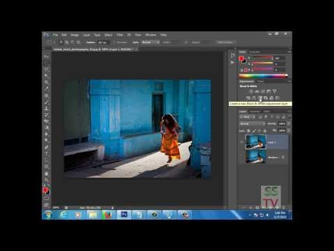 How To Make Color Splash Effect in Photoshop CS6