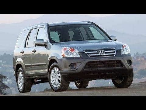 2006 Honda CR-V Start Up and Review 2.4 L 4-Cylinder
