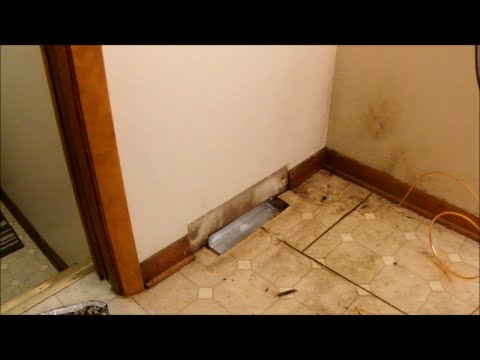 Cover a Heat Vent with Sheet Metal