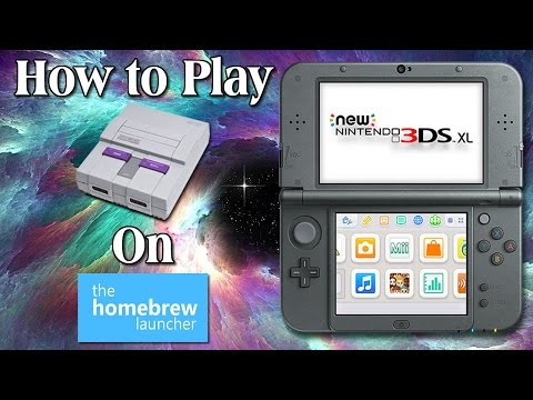 3DS Homebrew Guide: How to Play SNES Games (non-piracy)