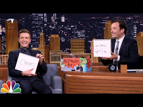 Best Friends Challenge with Justin Timberlake