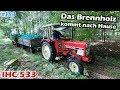 Brennholz Das Holz Kommt Ausm Wald IHC 533 Mr Moto