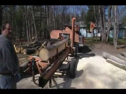 WOODMIZER LT30HD Portable Sawmill Demonstration