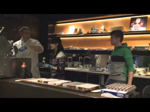 Making Handmade chocolates at the Chocolate Experience York 02
