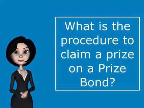 What is the Procedure to Claim a Prize on a Prize Bond?