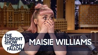 Download Maisie Williams Accidentally Drops a Major Spoiler in Game of Thrones' Final Season Video