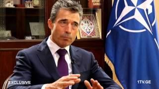 Anders Fogh Rasmussen Exclusive interview (Georgian Public Broadcaster)