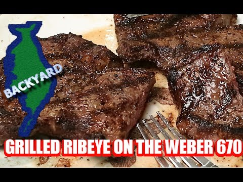 Ribeye Steak - The Basics to Grilling the Perfect Steak (Weber Propane Grill Edition)