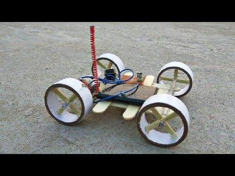 Make Remote Control Car at home