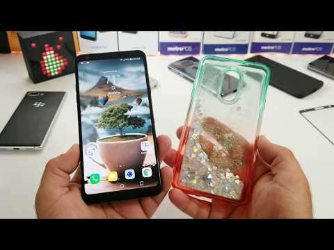 LG Stylo 4 NagBee waterfall Liquid Sparkle Case. This case is Awesome 👍