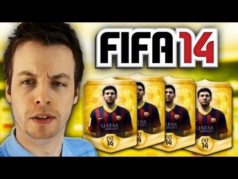 FIFA 14 ULTIMATE TEAM WEB APP PACK OPENING