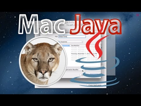 Mac OS X Installer for Java Application