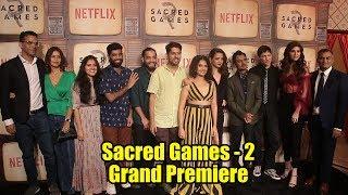 Sacred Games Season 02 Grand Premiere   COMPLETE EVENT   #ScaredGames2