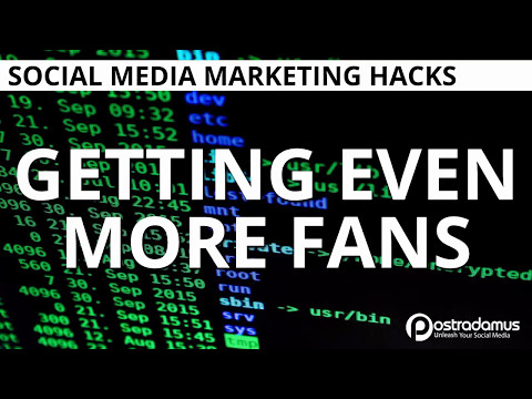 HACK: Get more Facebook page fans the easy way
