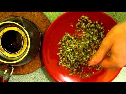 Doug's Allotment - How to pick, dry and make Chamomile tea