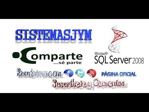 Curso SQL SERVER 2008 R2: Bienvenida e Introduccion a BD