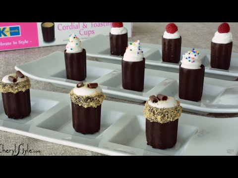Chocolate Cups With Filling
