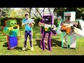 NERF Meets Minecraft Full Movie Animation