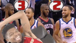 OMG THERE IS A GOD AFTER ALL! ROCKETS vs WARRIORS GAME 5 HIGHLIGHTS REACTION!