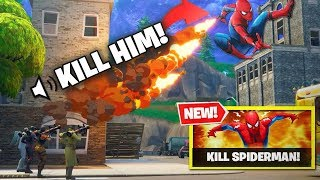 Download FIRST EVER KILL The Spider-Man Fortnite NEW GAMEMODE! NEW CUSTOM GAMEMODE IS WILD! Video