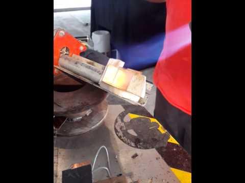 Soldering copper corners