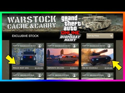 GTA Online The Doomsday Heist DLC - All 13 NEW Confirmed Vehicles, Cars, Submarines & MORE! (GTA 5)