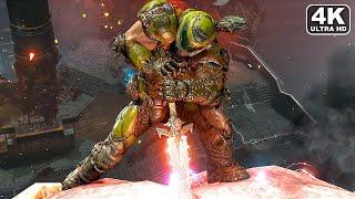 DOOM ETERNAL All Bosses/Boss Fights + Ending 4K 60FPS PC ULTRA