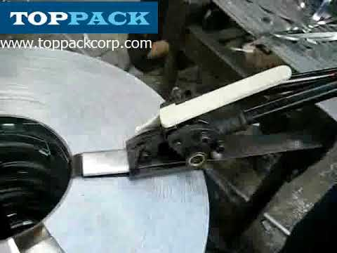 manual steel strapping tool for packing pipe and tube etc